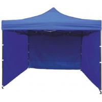 InGarden predajný stánok 3 x 3 m modrý
