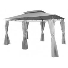 InGarden záhradný altánok 3 x 4 x 2,6 m sivý Preview