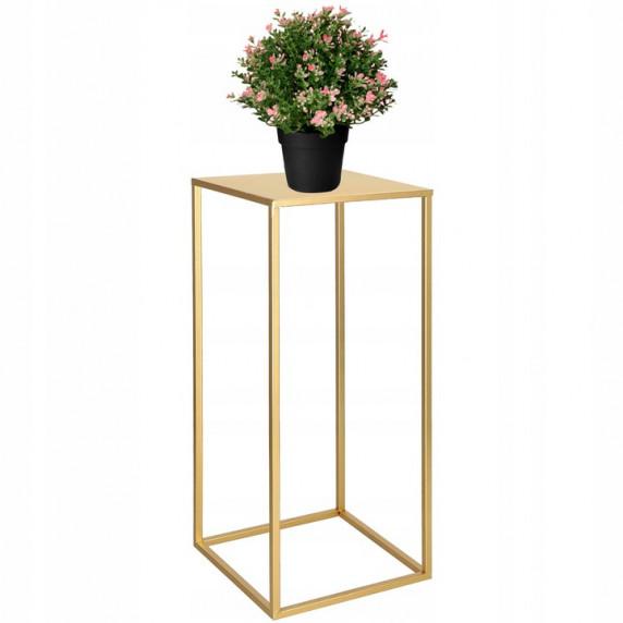 Stojan na kvety set Inlea4Home 9282/9299/9305 - zlatý