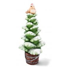 Inlea4Fun Vianočný stromček s vtáčikom 55 cm LED Preview