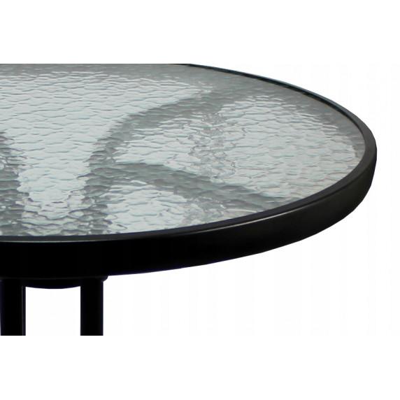 InGarden záhradná zostava BISTRO stôl + 2 stoličky tmavohnedá