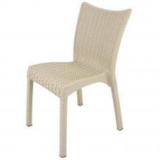 Ratanová záhradná stolička InGarden 53 x 45 x 81 cm 3938 - Cappuccino Preview