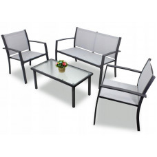 Záhradná zostava InGarden HALINA  stôl + lavica + 2 stoličky Preview