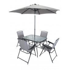 InGarden záhradná zostava MELINDA stôl + 4 stoličky + dáždnik Preview
