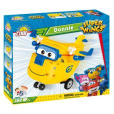 COBI 25122 SUPER WINGS Opravár Donnie žlté lietadlo 182 ks Preview