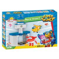 COBI 25132 SUPER WINGS Medzinárodné letisko + Jett a Donnie 510 ks