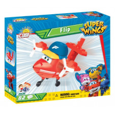 COBI 25136 SUPER WINGS Športiak Flip mini červené lietadlo 82 ks Preview