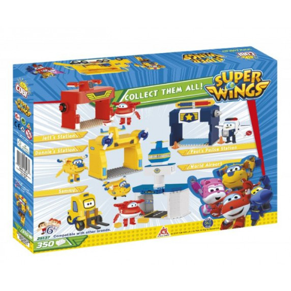 COBI 25137 SUPER WINGS Poppa Wheels Kamión 350 ks