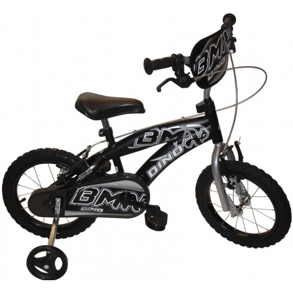"Bicykel DINO 165 BMX 16"" - čierny"