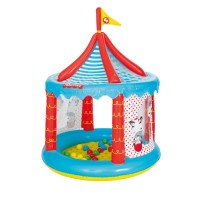 Fisher-Price Detský nafukovací cirkus s loptičkami
