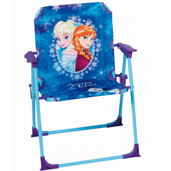 Detská kempingová stolička Ľadové kráľovstvo