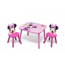 Detský stolík so stoličkami Minnie II Preview