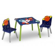 Detský drevený stôl - Astronaut Preview