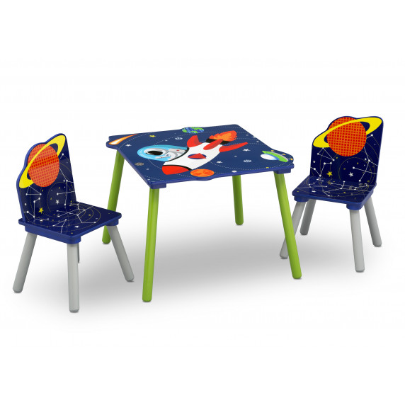 Detský drevený stôl - Astronaut