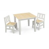 Detský drevený stôl - Natural