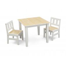 Detský drevený stôl - Natural Preview