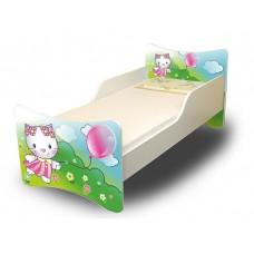 Detská posteľ Mačička 160x70 cm Preview