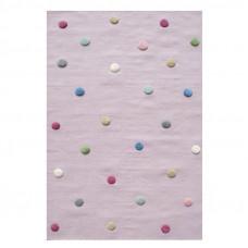 Detský koberec FAREBNÉ BODKY 100 x 160 cm Preview