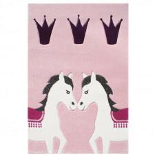Detský koberec PONNY 120 x 180 cm ružový Preview