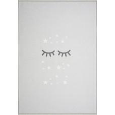 Detský koberec SPIACE OČKÁ 100 x 160 cm sivý Preview