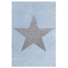 Detský koberec STAR 160 x 230 cm modrý Preview