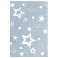 Detský koberec STARLIGHT 160 x 230 cm modro-biely Preview