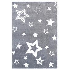 Detský koberec STARLIGHT 130 x 190 cm šedo-biely Preview