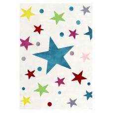 Detský koberec Stars krémová/multicolor - 120 x 180 cm  Preview