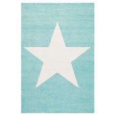 Detský koberec STAR - 80 x 150 cm mätový-biely Preview