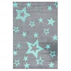 Detský koberec STARLIGHT 100 x 160 cm sivo-mätový Preview