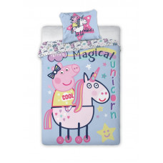 Posteľné obliečky Peppa Pig - Unicorn 140 x 200 cm Preview