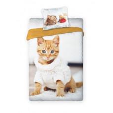 Detské posteľné obliečky Mačička Preview