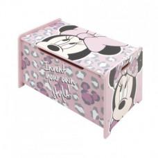 Detská drevená truhla Minnie Mouse 2 Preview