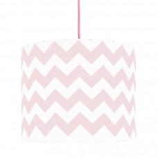 Detská textilná závesná lampa Cik Cak Mini ružová Preview