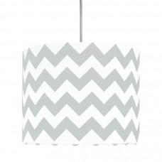 Detská textilná závesná lampa Cik Cak Mini sivá Preview