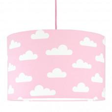 Detská textilná závesná lampa Obláčiky ružová Preview