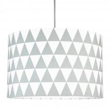 Detská textilná závesná lampa Triangle sivá Preview