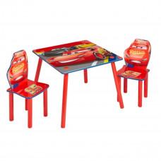 Detský stôl so stoličkami Cars VI Preview