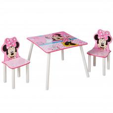 Detský stolík so stoličkami Minnie Mouse Preview