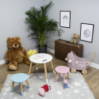 Detský okrúhly stôl so stoličkami Ourbaby