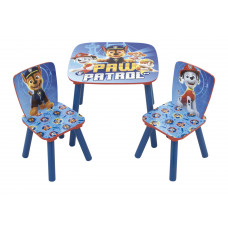 Detský stôl so stoličkami Tlapková patrola 3 Preview