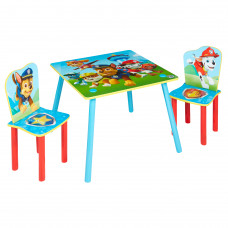 Detský stôl so stoličkami Paw Patrol Preview