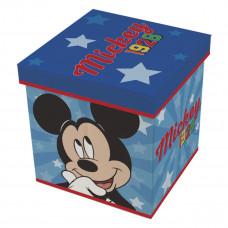 Detský taburetka s úložným priestorom Mickey Mouse  Preview