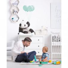 Dekorácia na stenu DEKORNIK Panda s mätovými balónikmi Preview