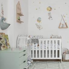 Dekorácia na stenu DEKORNIK Happy White Rabbits Preview