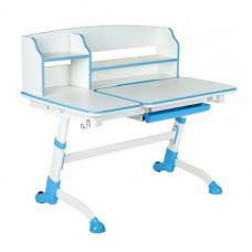 FUN DESK Amare ll Detský písací stôl s nastaviteľnou výškou - modrý Preview