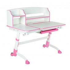 FUN DESK Amare ll Detský písací stôl s nastaviteľnou výškou - ružový Preview