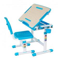 FUN DESK Bambino Detský písací stôl so stoličkou s regulovateľnou výškou - modrý Preview