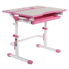 FUN DESK Lavoro L Detský písací stôl s nastaviteľnou výškou - ružový Preview