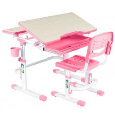 FUN DESK Lavoro Detský písací stôl so stoličkou a nastaviteľnou výškou - ružový Preview